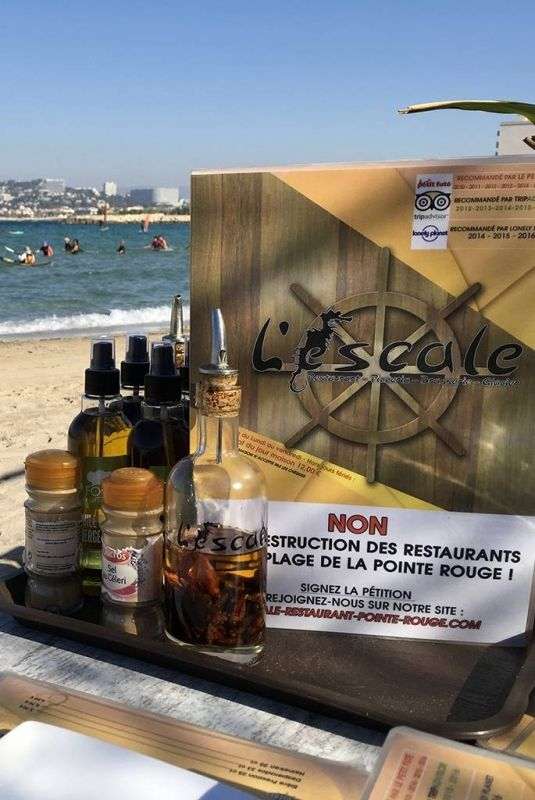 Restaurant l'Escale - Restaurant Pointe Rouge Marseille